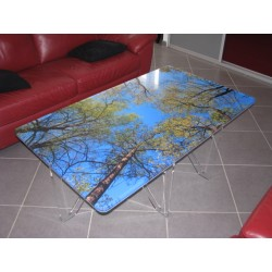 Table basse rectangulaire - 1430x830 mm